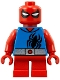 Minifig No: sh479  Name: Scarlet Spider - Short Legs