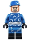 Minifig No: sh491  Name: Captain Boomerang - Blue Outfit