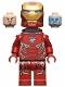 Minifig No: sh497  Name: Iron Man Mark 50 Armor, Neck Bracket