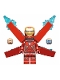 Minifig No: sh497a  Name: Iron Man Mark 50 Armor, Wings without Stickers