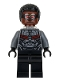 Minifig No: sh503  Name: Falcon, Dark Bluish Gray and Black Suit