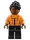 Minifig No: sh512  Name: Shuri - Orange Top