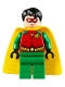 Minifig No: sh514  Name: Robin - Red Mask, Juniors Cape