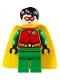 Minifig No: sh514  Name: Robin - Red Mask, Juniors Cape