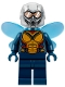 Minifig No: sh517  Name: The Wasp (Hope van Dyne) - Trans-Medium Blue Wings