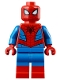 Minifig No: sh536  Name: Spider-Man - Metallic Blue Eye Highlights