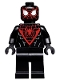 Minifig No: sh540  Name: Spider-Man (Miles Morales) - Black Hands