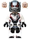 Minifig No: sh563  Name: Ant-Man (White Jumpsuit)