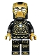 Minifig No: sh567  Name: Iron Man Mark 41 Armor (Trans-Clear Head)