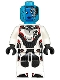 Minifig No: sh574  Name: Nebula - White Jumpsuit