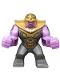 Minifig No: sh576  Name: Big Figure - Thanos with Dark Bluish Gray Armor
