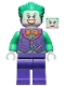Minifig No: sh590  Name: The Joker - Orange Bow Tie, Green Arms