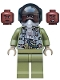 Minifig No: sh597a  Name: Maria Rambeau - Black Helmet and Oxygen Mask