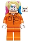 Minifig No: sh599  Name: Harley Quinn - Prison Jumpsuit