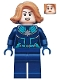 Minifig No: sh605  Name: Captain Marvel 'Vers' (Kree Starforce Uniform)