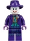 Minifig No: sh608  Name: The Joker - Dark Turquoise Bow Tie
