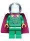 Minifig No: sh620  Name: Mysterio, Light Aqua Head, Trans-Clear Helmet