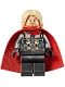 Minifig No: sh623  Name: Thor - Spongy Cape, Pearl Dark Gray Legs