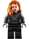 Minifig No: sh637  Name: Black Widow - Printed Arms
