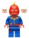 Minifig No: sh641  Name: Captain Marvel - Helmet