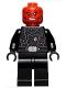 Minifig No: sh652  Name: Red Skull - Black Belt