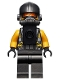 Minifig No: sh653  Name: AIM Agent - Neck Bracket on Front