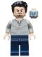 Minifig No: sh666  Name: Tony Stark - Open Neck Shirt