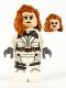 Minifig No: sh675  Name: Black Widow - White Jumpsuit