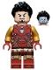 Minifig No: sh731  Name: Iron Man Mark 85 Armor - Black Hair