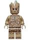 Minifig No: sh743  Name: Groot, Teen Groot - Dark Tan