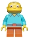 Minifig No: sim016  Name: Ralph Wiggum - Minifigure only Entry