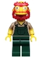 Minifig No: sim039  Name: Groundskeeper Willie - Minifigure only Entry