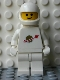 Minifig No: sp006new  Name: Classic Space - White with Airtanks and Modern Helmet (Reissue)
