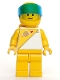 Lot ID: 202594001  Minifig No: sp016  Name: Futuron - Yellow