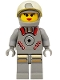 Minifig No: sp061  Name: Astrobot Female, Sandy Moondust