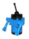 Minifig No: sp071  Name: Classic Space Droid - Round Plate Base, Blue and Black