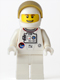 Minifig No: sp124  Name: Shuttle Astronaut - Male, Thin Grin with Teeth