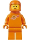 Minifig No: sp130  Name: Classic Space - Orange with Airtanks and Updated Helmet