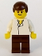 Minifig No: sw0015  Name: Han Solo, Brown Legs without Holster Pattern (Skiff)
