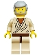 Minifig No: sw0023  Name: Obi-Wan Kenobi with Light Gray Hair (Old)