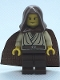 Minifig No: sw0024  Name: Obi-Wan Kenobi (Young with Hood and Cape)