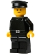 Minifig No: sw0042  Name: Imperial Shuttle Pilot (Yellow Head)
