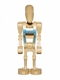 Minifig No: sw0065  Name: Battle Droid Pilot with Tan Torso with Blue Insignia