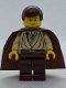 Minifig No: sw0069  Name: Obi-Wan Kenobi (Young with Padawan Braid Pattern)