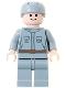 Minifig No: sw0082  Name: Rebel Technician, Light Bluish Gray Uniform