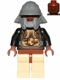 Minifig No: sw0086  Name: Lando Calrissian - Skiff Guard, Reddish Brown Hips