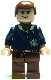Minifig No: sw0088  Name: Han Solo - Light Nougat, Reddish Brown Legs with Holster