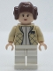 Minifig No: sw0113a  Name: Princess Leia (Hoth Outfit, Smooth Bun Hair)