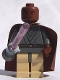 Minifig No: sw0133  Name: Mace Windu with Light-Up Lightsaber (Trans-Light Purple Lightsaber Blade)