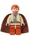 Minifig No: sw0135  Name: Obi-Wan Kenobi, Dark Orange Legs